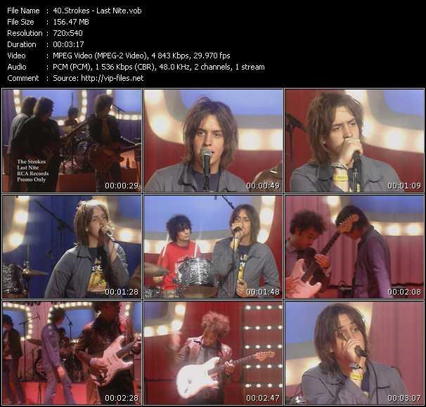 Strokes video screenshot