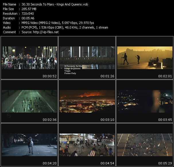 30 Seconds To Mars video screenshot