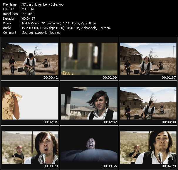 video Julie screen