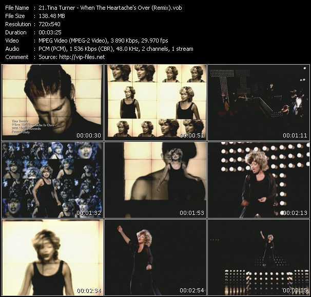 video When The Heartache's Over (Remix) screen