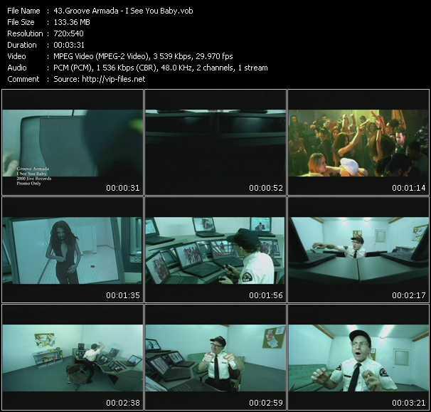 Groove Armada video screenshot