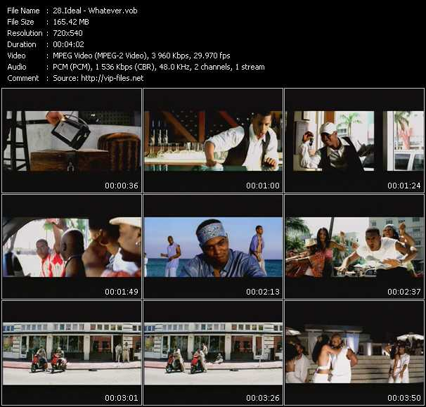 Ideal video screenshot