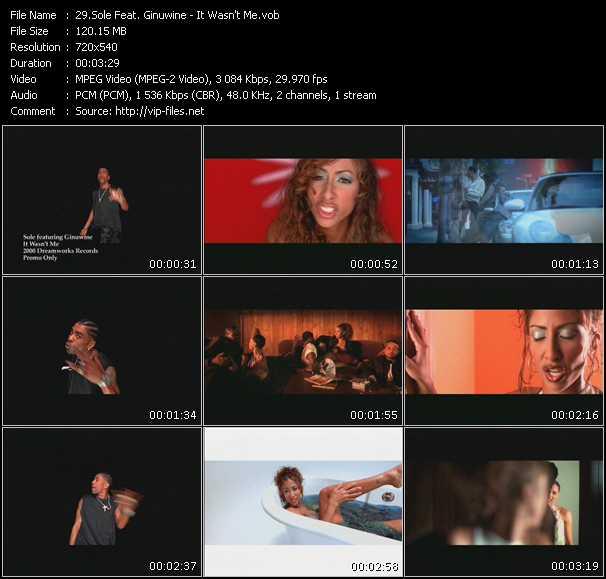 Sole Feat. Ginuwine video screenshot