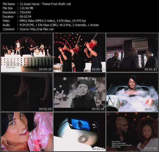 Isaac Hayes video screenshot