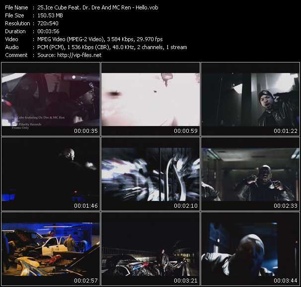 Ice Cube Feat. Dr. Dre And MC Ren video screenshot