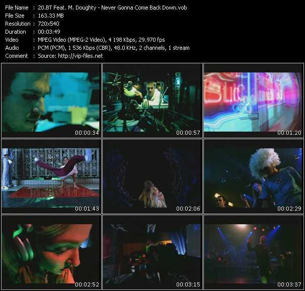 Bt Feat. M. Doughty video screenshot