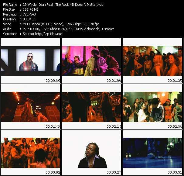 Wyclef Jean Feat. The Rock video screenshot