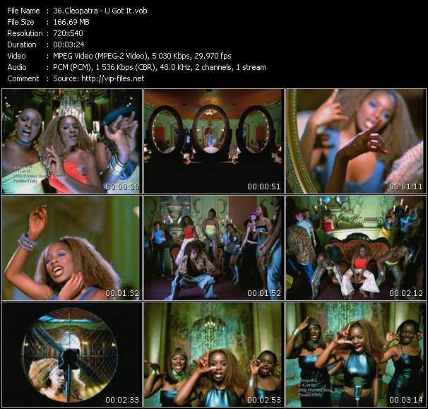 Cleopatra video screenshot