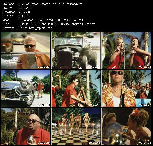Brian Setzer Orchestra video screenshot
