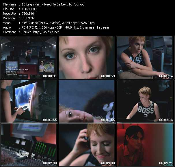 Leigh Nash video screenshot
