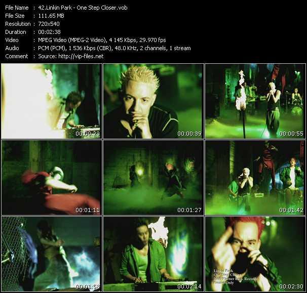 Linkin Park video screenshot