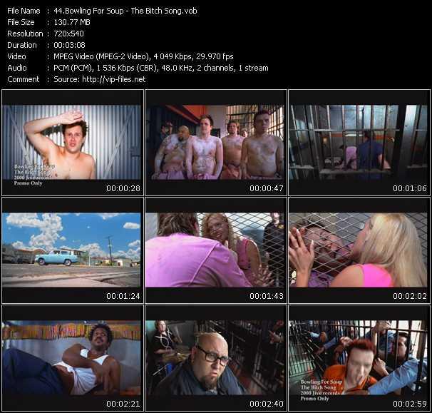 Bowling For Soup video screenshot