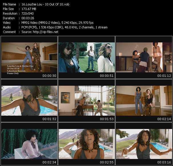 Louchie Lou video screenshot