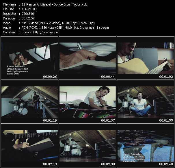 Ramon Aristizabal video screenshot