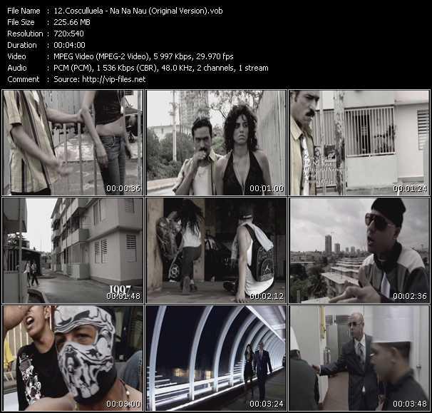 Cosculluela video screenshot
