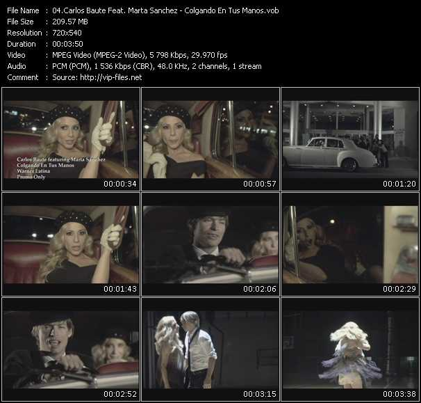 Carlos Baute Feat. Marta Sanchez video screenshot