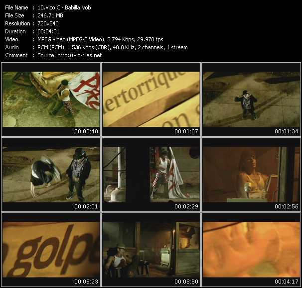 Vico C video screenshot