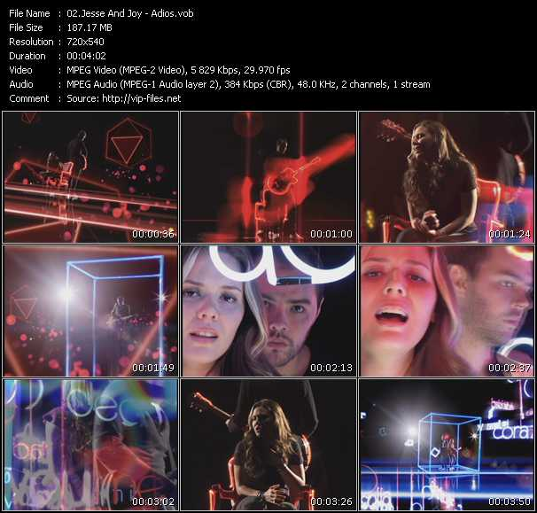 Jesse And Joy video screenshot