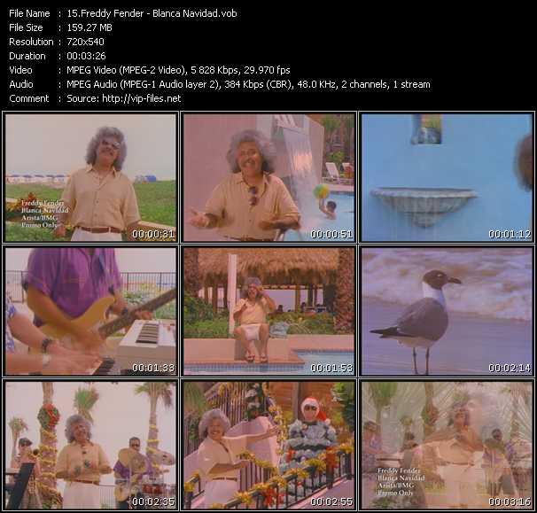 Freddy Fender video screenshot