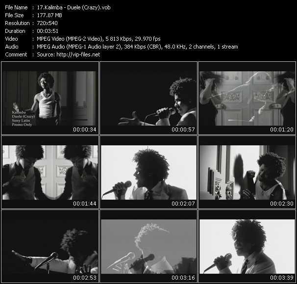 Kalimba video screenshot