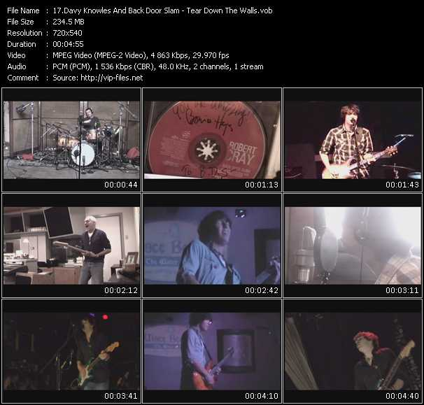 Davy Knowles And Back Door Slam video screenshot