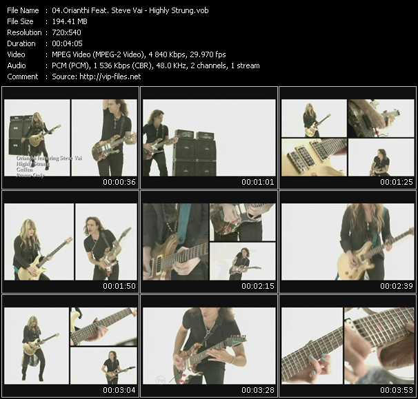 Orianthi Feat. Steve Vai video screenshot