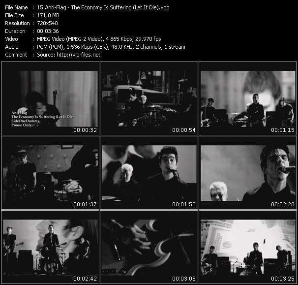 Anti-Flag video screenshot