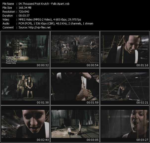 Thousand Foot Krutch video screenshot