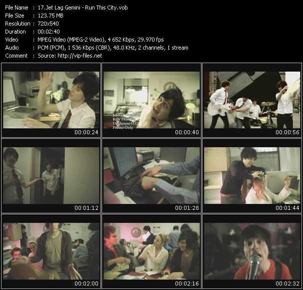 Jet Lag Gemini video screenshot