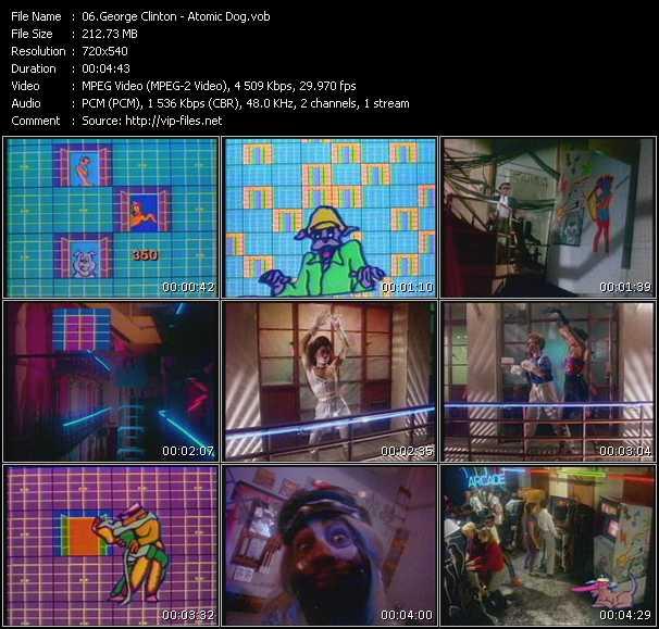 video Atomic Dog screen