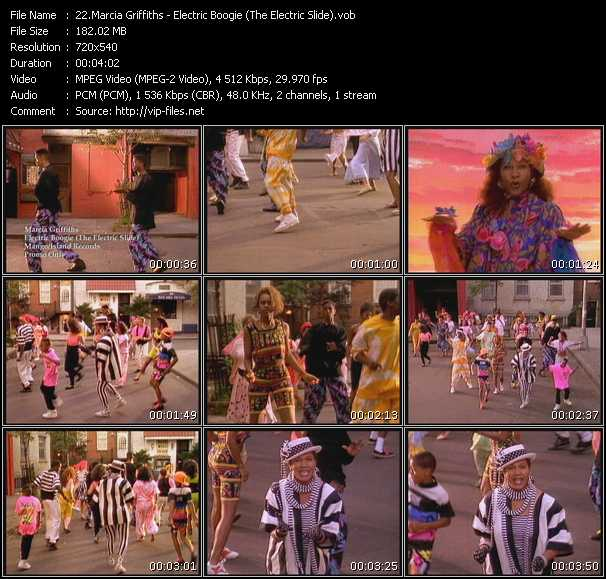 Marcia Griffiths video screenshot