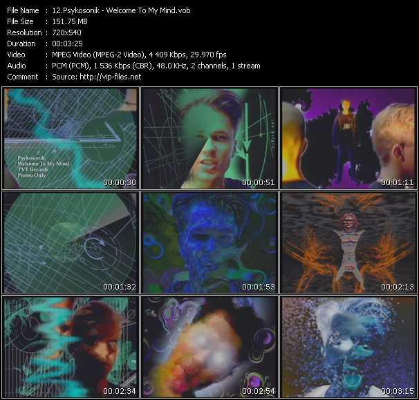 Psykosonik video screenshot