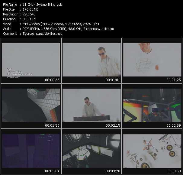 Grid video screenshot