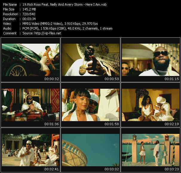 Rick Ross Feat. Nelly And Avery Storm video screenshot