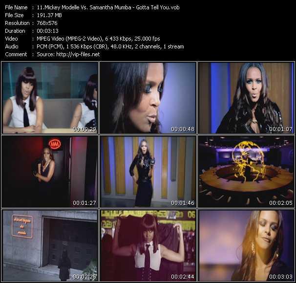 Mickey Modelle Vs. Samantha Mumba video screenshot