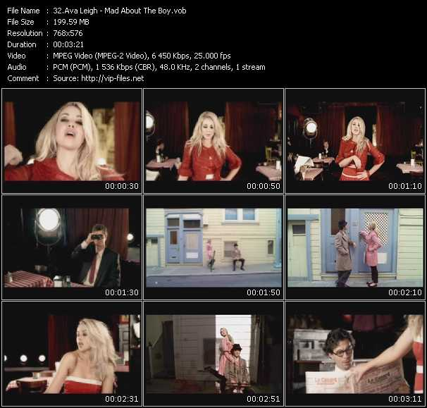 Ava Leigh video screenshot