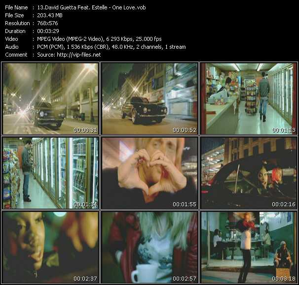 David Guetta Feat. Estelle video screenshot