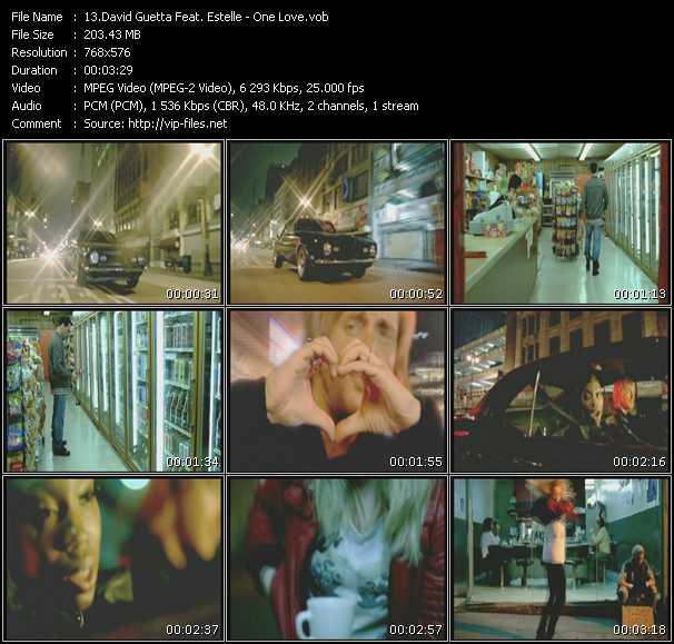 David Guetta Feat. Estelle video screenshot