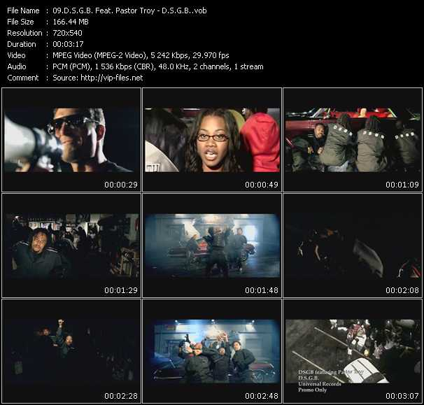 D.S.G.B. Feat. Pastor Troy video screenshot
