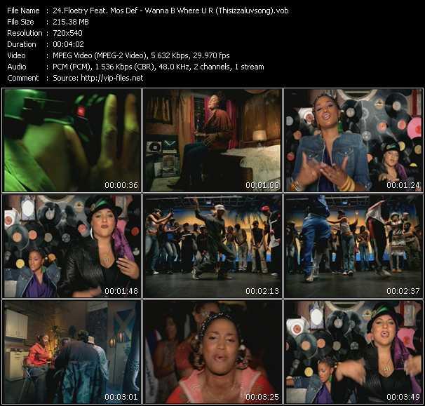 Floetry Feat. Mos Def video screenshot