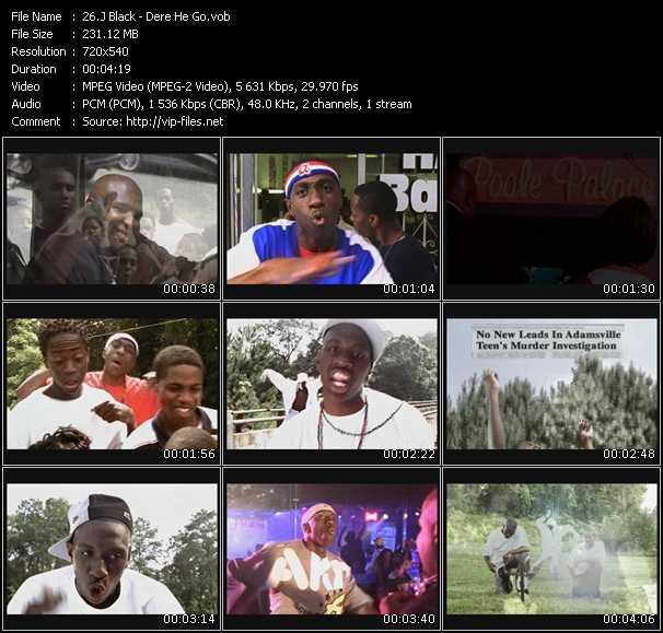 J Black video screenshot