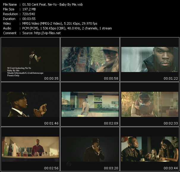 50 Cent Feat. Ne-Yo video screenshot