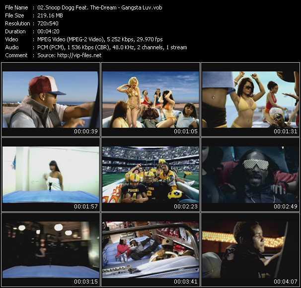 video Gangsta Luv screen