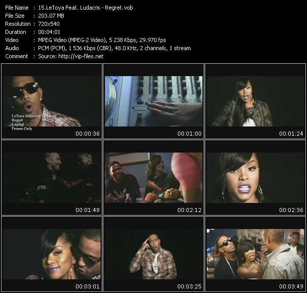 LeToya Feat. Ludacris video screenshot