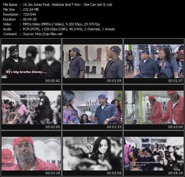 Jim Jones Feat. Webstar And T-Rex video screenshot