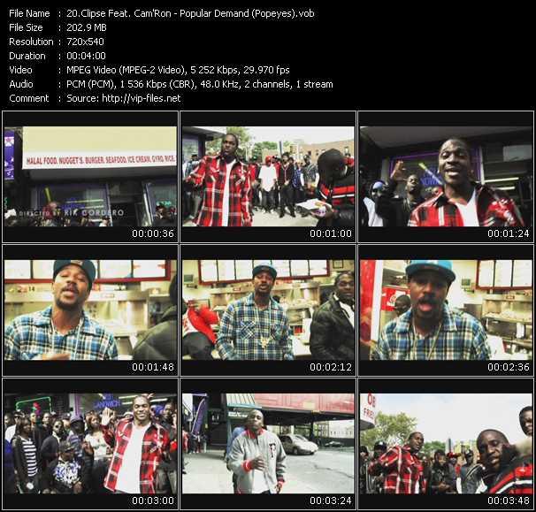 video Popular Demand (Popeyes) screen