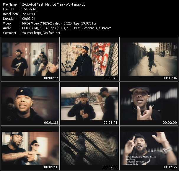 U-God Feat. Method Man video screenshot