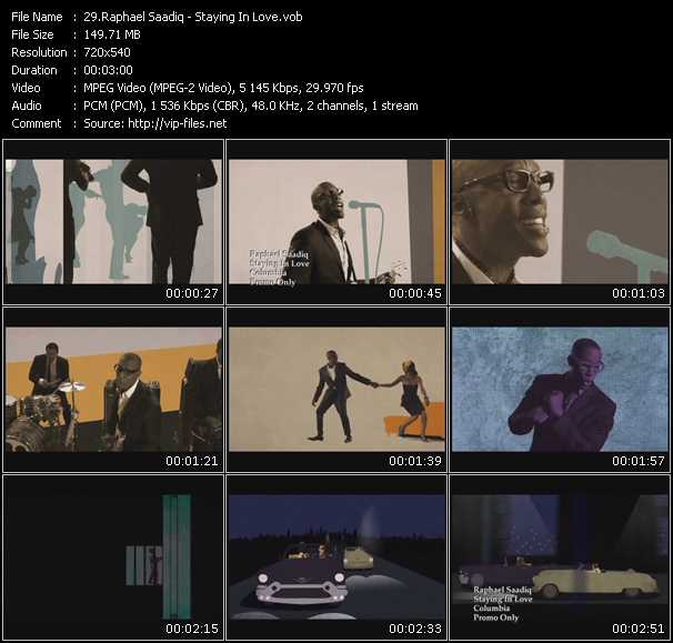video Staying In Love screen
