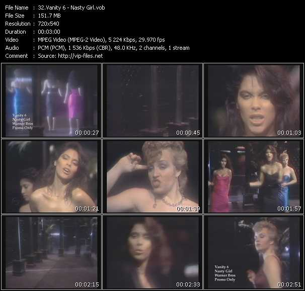 Vanity 6 video screenshot