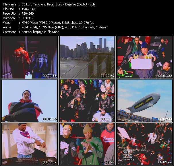 video Deja Vu (Explicit) screen